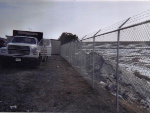 Commercial Chainlink with Barbwire