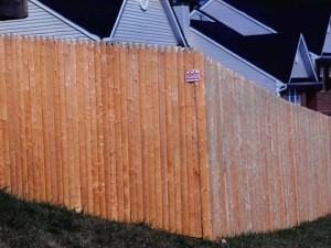 Custom Wood Stockade