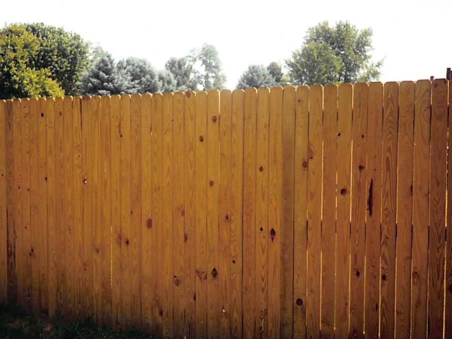 Custom Wood Ccc Fence