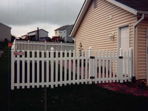 Gate PVC Picket